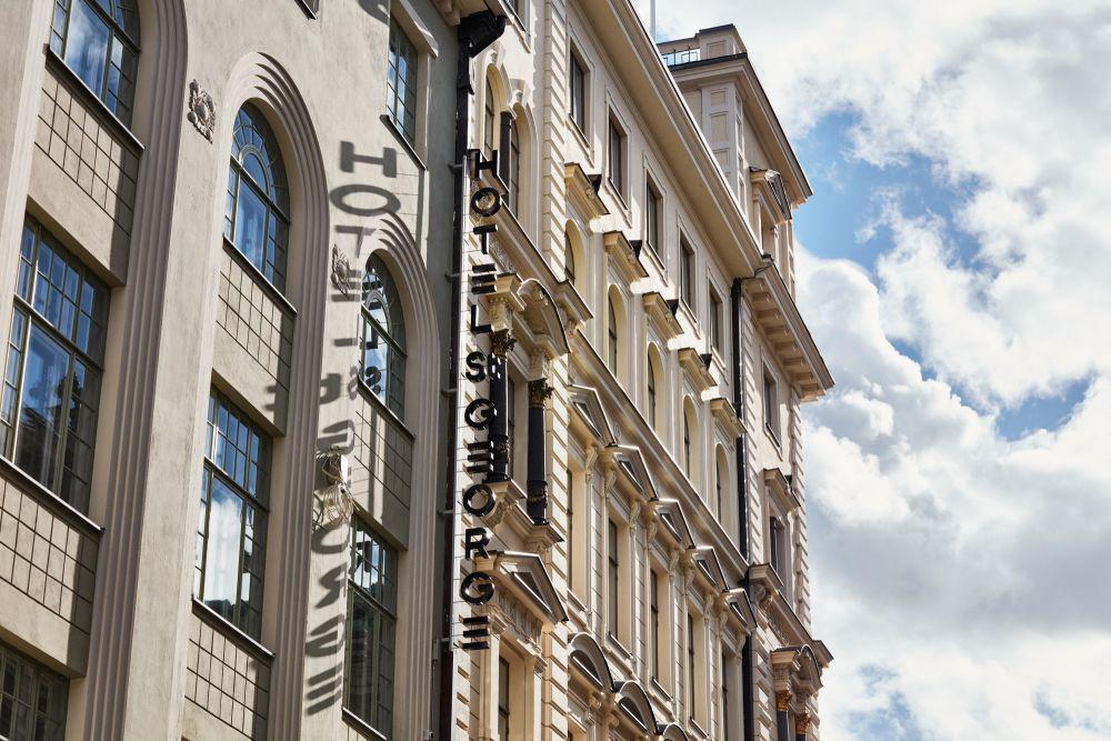 Hotel St. George on uusi luksushotelli Helsingin keskustassa, Vanhan Kirkkopuiston vieressä
