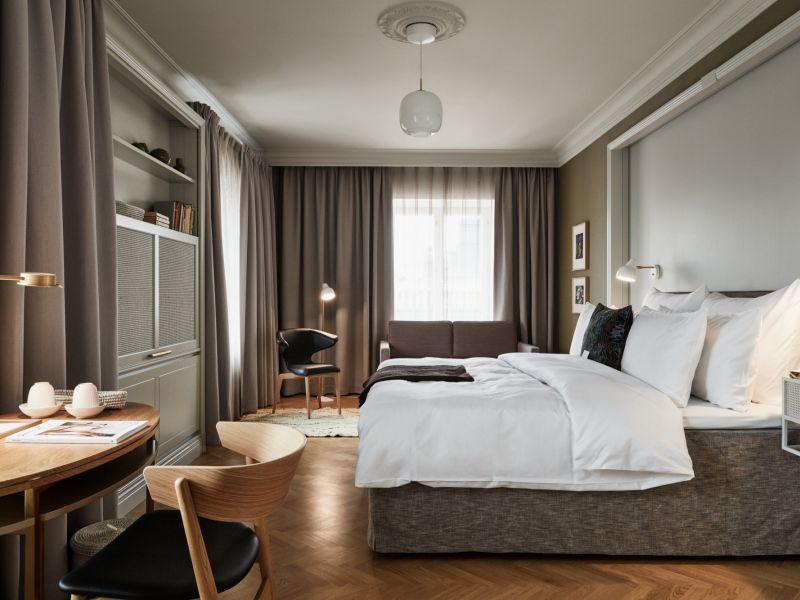 Elegantti ja tyylikäs hotellihuone Helsingin keskustassa, Hotel St. Georgessa