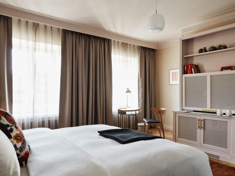 Hotel St. Georgen Serenity Studio -huoneet ovat tyyneyden ja rauhan huoneita
