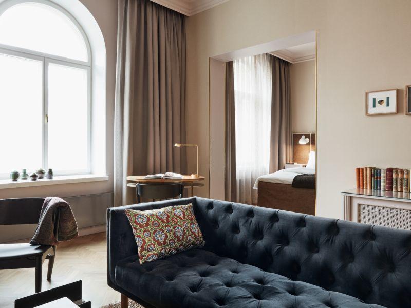 Church Park Suite: yksityinen ja elegantti huonekokonaisuus Helsingin keskustassa