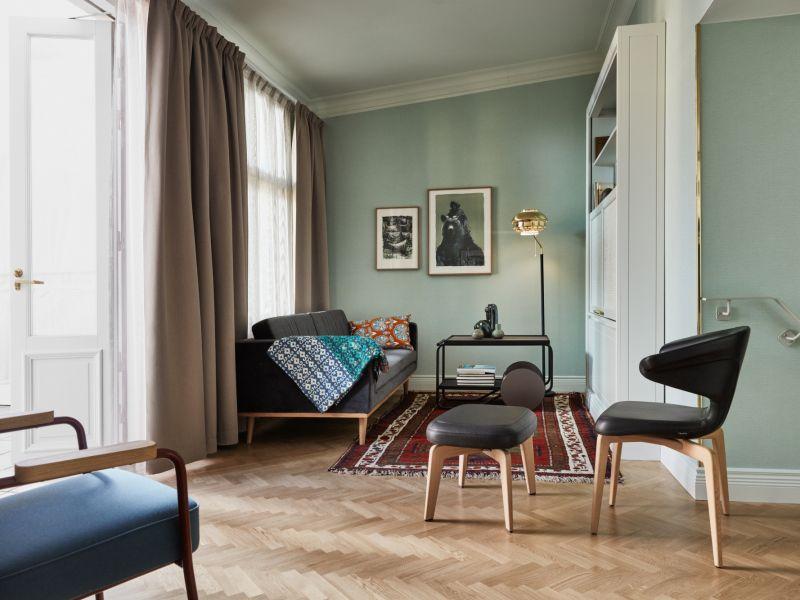 Fabulous corner suite in Helsinki's Hotel St. George