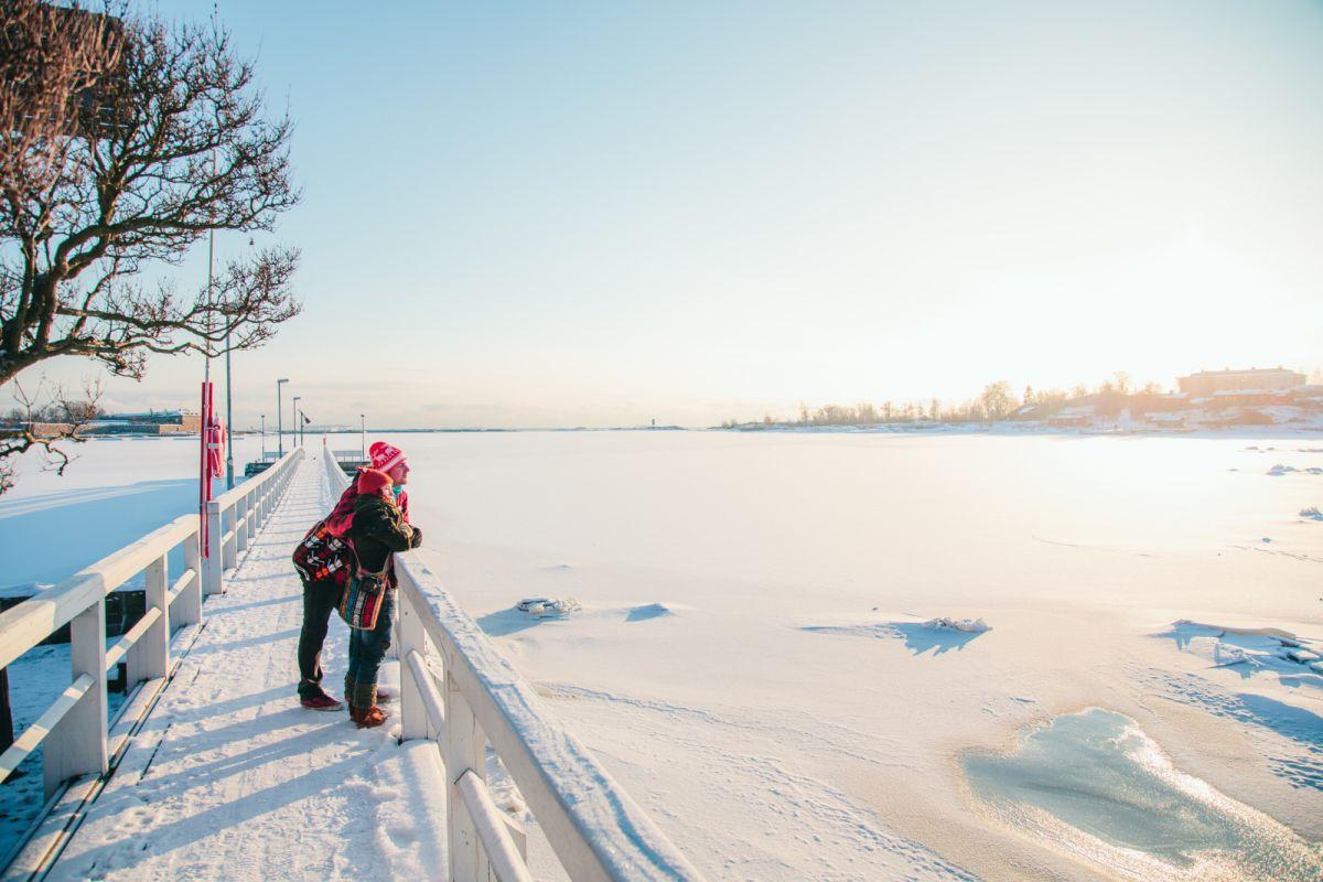 Helsingin keskustastakin voi löytää paikkoja rauhoittumiselle.