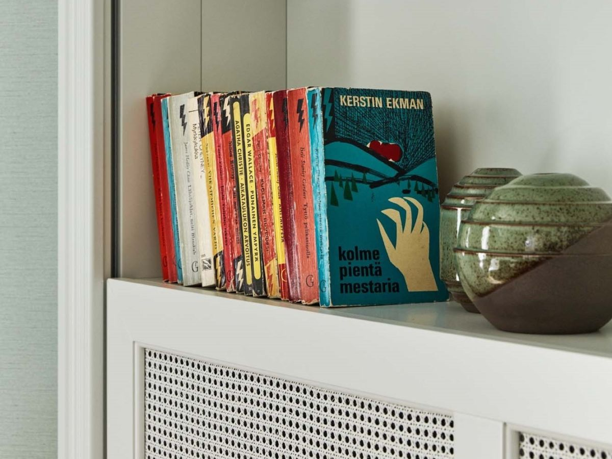 There are books in each of the 153 rooms at Hotel St. George, Helsinki.