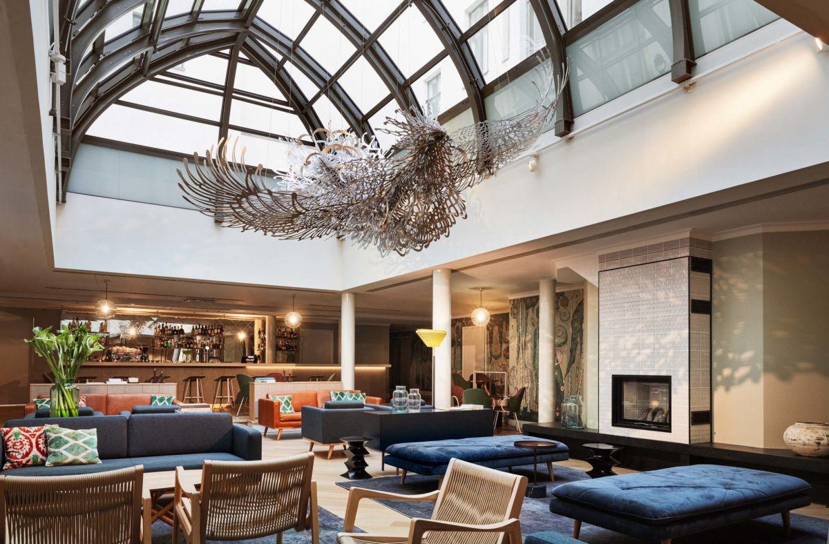Hotel St. Georgen Wintergardenissa järjestät ikimuistoiset aamiaistilaisuudet.
