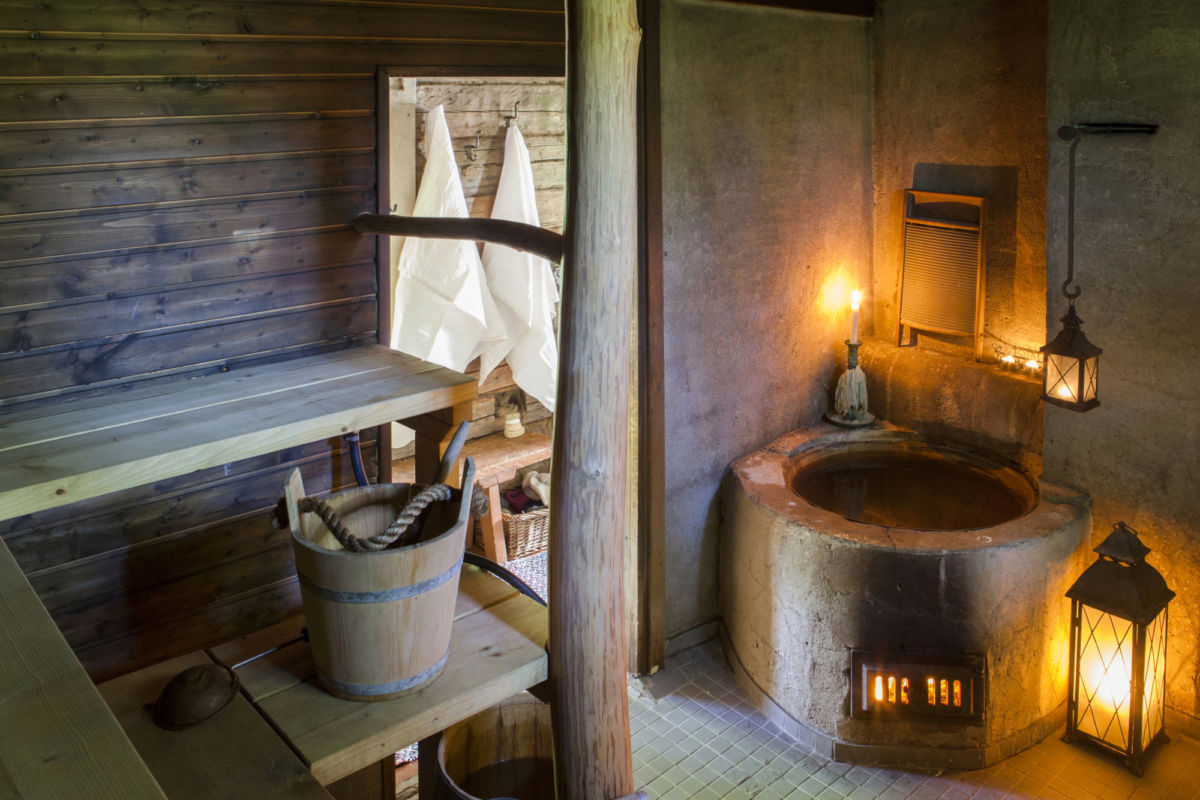 If you're looking for a peaceful countryside escape without leaving the city, Kaurilan Sauna is your best bet.