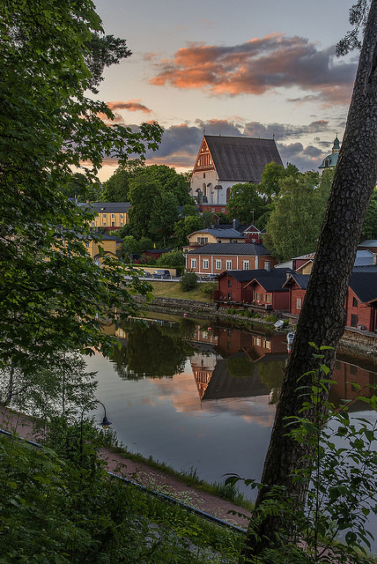 The red granaries by the river are one of the symbols of Porvoo. Some of them house cafés but most of them are still in private use.