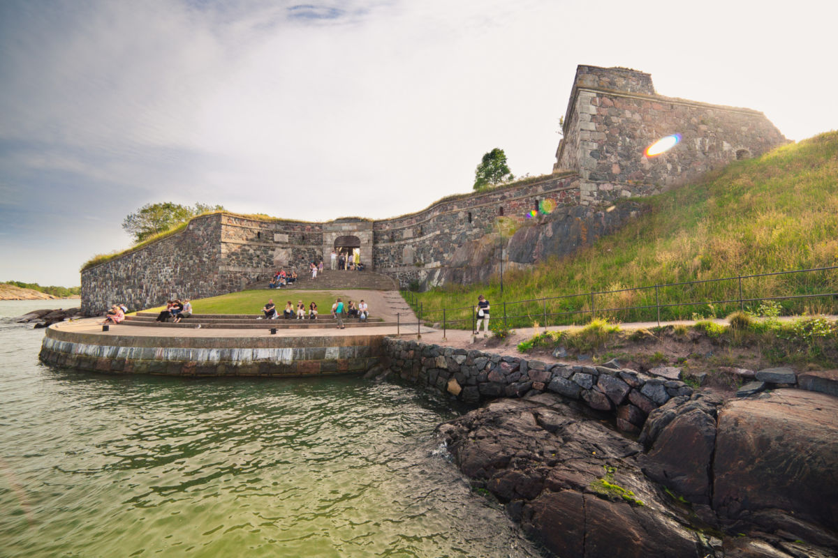World Heritage Site Suomenlinna is a cultural treasure and a place, where locals love to spend time in the summer. Photo: Jussi Hellsten, Visit Finland