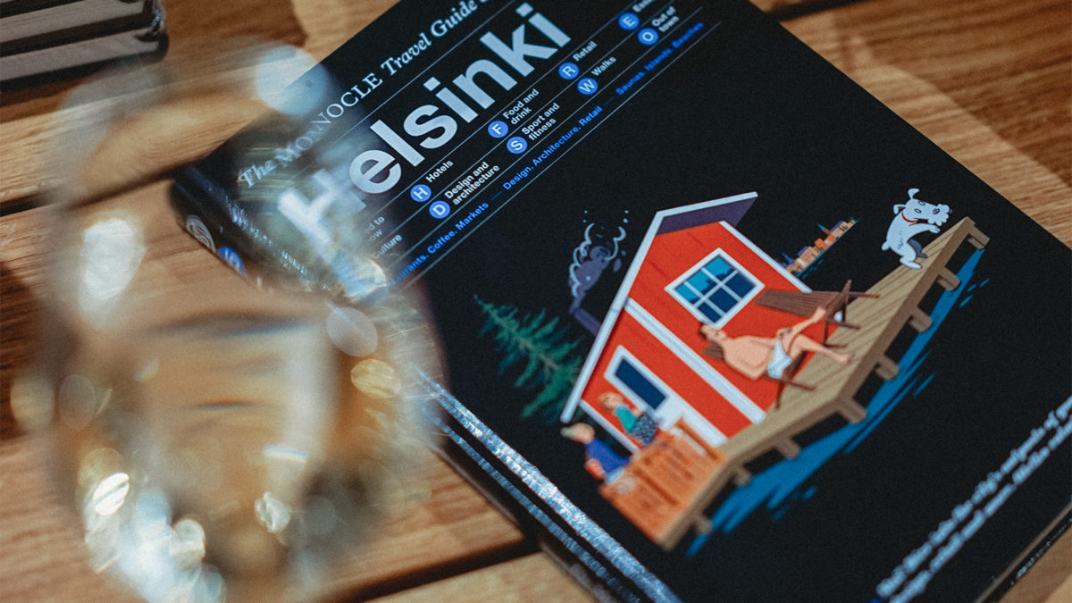 ​The Helsinki Travel Guide was launched on 22 November at the first Monocle Shop in the Nordic countries