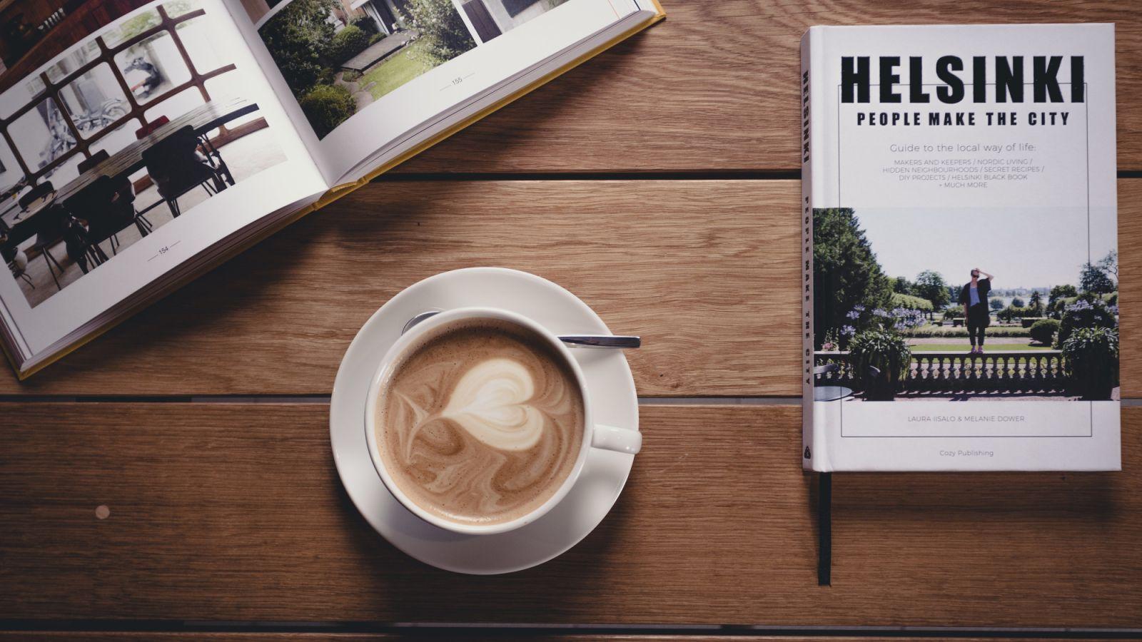 Lue rauhassa kirja, juo kahvi ja nauti tuoreesta leivästä St. George Bakeryssa