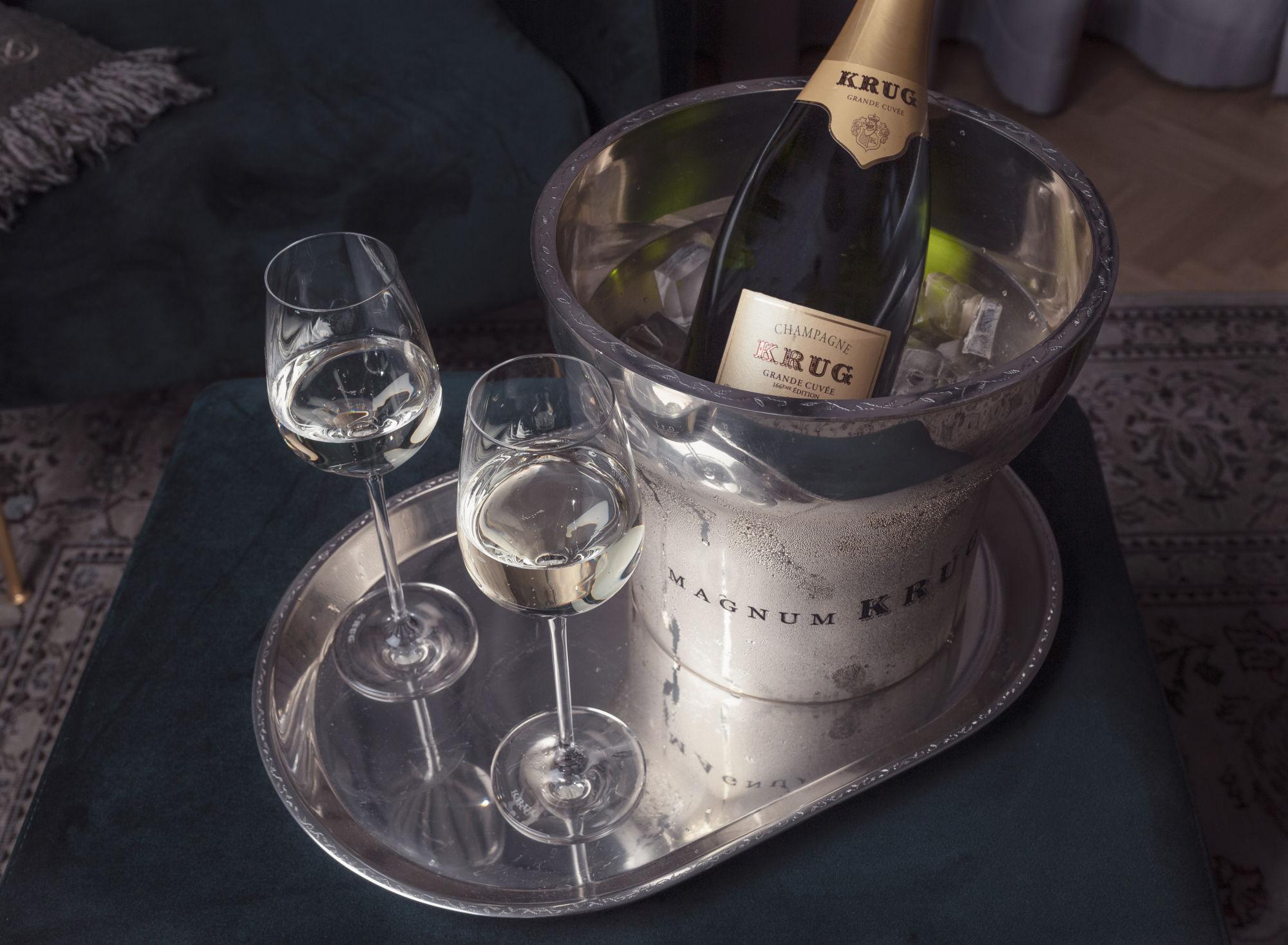 Nauti Krug samppanjasta Hotel St. Georgessa