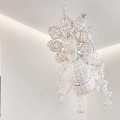 AiWeiWein taidetta Hotel St. Georgen aulassa