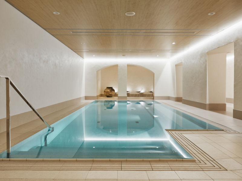 Luxurious spa in Helsinki city center