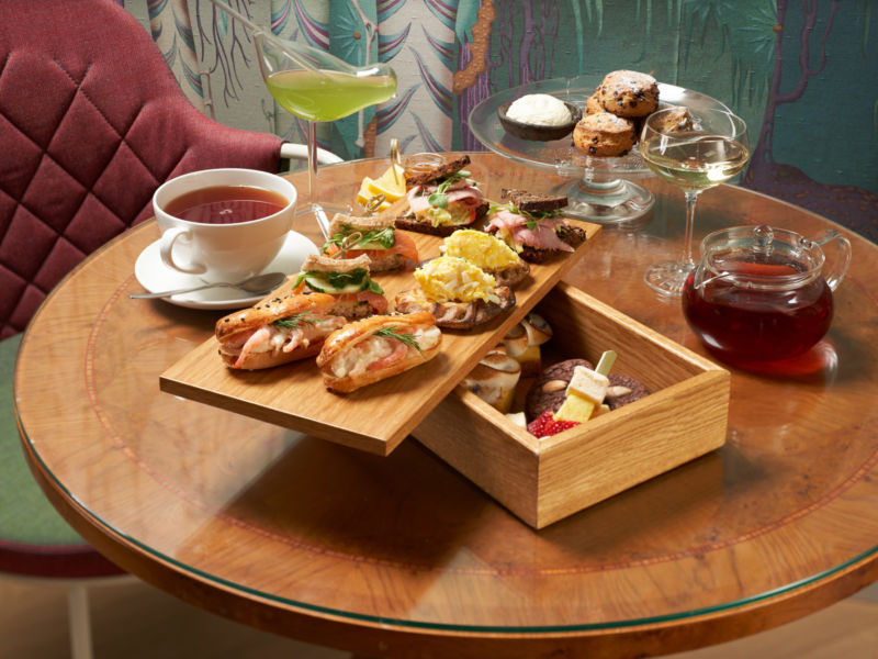 Afternoon Tea at Hotel St. George's Witntergarden