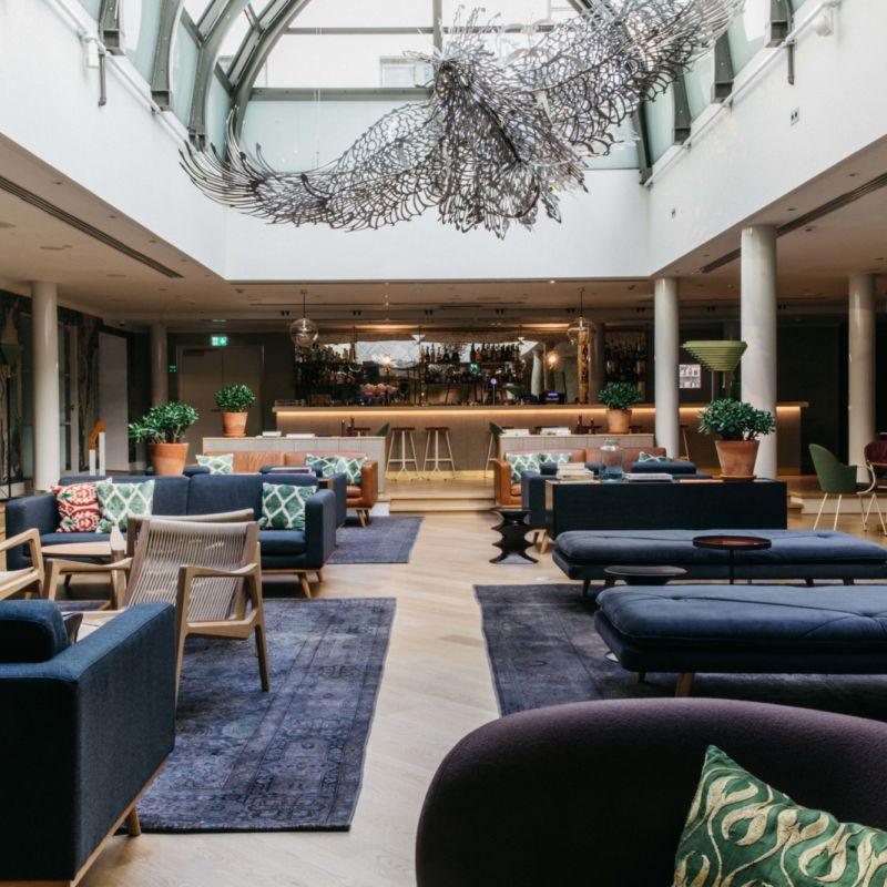 Wintergardenissa Hotel St. Georgessa järjestät ikimuistoiset tapahtumat ja juhlat.