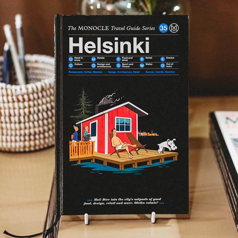 Lifestyle-lehti Monocle julkaisi matkaoppaan Helsinkiin